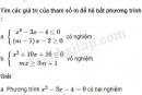Câu 4.66 trang 113 SBT Đại số 10 Nâng cao