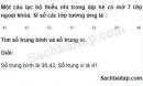 Câu 5.7 trang 176 SBT Đại số 10 Nâng cao