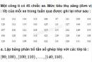 Câu 5.24 trang 181 SBT Đại số 10 Nâng cao