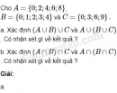 Câu 1.26 trang 11 SBT Đại số 10 Nâng cao