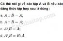 Câu 1.29 trang 11 SBT Đại số 10 Nâng cao