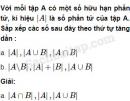 Câu 1.31 trang 11 SBT Đại số 10 Nâng cao