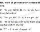Câu 1.3 trang 7 SBT Đại số 10 Nâng cao
