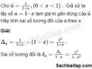 Câu 1.41 trang 12 SBT Đại số 10 Nâng cao