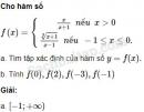 Câu 2.3 trang 30 SBT Đại số 10 Nâng cao