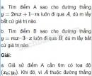 Câu 2.22 trang 33 SBT Đại số 10 Nâng cao