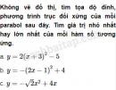Câu 2.27 trang 34 SBT Đại số 10 Nâng cao