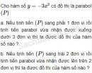 Câu 2.40 trang 36 SBT Đại số 10 Nâng cao