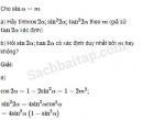 Câu 6.47 trang 204 SBT Đại số 10 Nâng cao