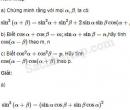 Câu 6.51 trang 205 SBT Đại số 10 Nâng cao