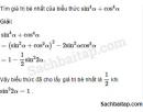 Câu 6.67 trang 208 SBT Đại số 10 Nâng cao
