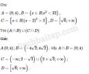Câu 1 trang 238 SBT Đại số 10 Nâng cao