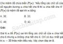 Câu 3 trang 238 SBT Đại số 10 Nâng cao