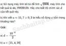 Câu 4 trang 238 SBT Đại số 10 Nâng cao