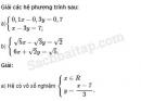 Câu 8 trang 239 SBT Đại số 10 Nâng cao