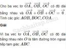 Bài 13 trang 7 SBT Hình học 10 Nâng cao