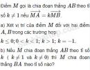 Bài 16 trang 8 SBT Hình học 10 Nâng cao