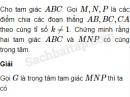 Bài 17 trang 8 SBT Hình học 10 Nâng cao