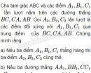 Bài 20 trang 8 SBT Hình học 10 Nâng cao