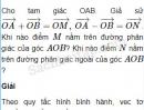 Bài 6 trang 6 SBT Hình học 10 Nâng cao