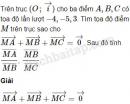 Bài 45 trang 13 SBT Hình học 10 Nâng cao