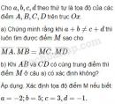 Bài 46 trang 13 SBT Hình học 10 Nâng cao