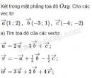 Bài 47 trang 13 SBT Hình học 10 Nâng cao