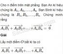 Bài 10 trang 6 SBT Hình học 10 Nâng cao