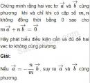 Bài 12 trang 7 SBT Hình học 10 Nâng cao