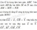 Bài 55 trang 14 SBT Hình học 10 Nâng cao