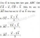 Bài 11, 12, 13, 14 trang 16, 17 SBT Hình học 10 Nâng cao