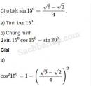 Bài 6 trang 39 SBT Hình học 10 Nâng cao