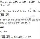 Bài 10 trang 40 SBT Hình học 10 Nâng cao