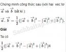 Bài 13 trang 40 SBT Hình học 10 Nâng cao