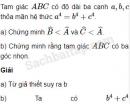 Bài 52 trang 47 SBT Hình học 10 Nâng cao