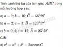 Bài 53 trang 47 SBT Hình học 10 Nâng cao