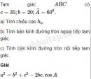 Bài 56 trang 47 SBT Hình học 10 Nâng cao