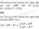 Bài 44 trang 107 SBT Hình học 10 Nâng cao