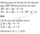 Bài 45 trang 107 SBT Hình học 10 Nâng cao