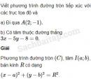 Bài 48 trang 108 SBT Hình học 10 Nâng cao