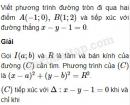 Bài 50 trang 108 SBT Hình học 10 Nâng cao
