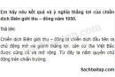 Câu 6 trang 34 Vở bài tập Lịch sử 5