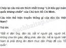 Câu 1 trang 29 Vở bài tập Lịch sử 5