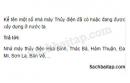 Câu 6 trang 61 Vở bài tập Lịch sử 5