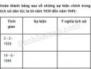 Câu 2 trang 62 Vở bài tập Lịch sử 5
