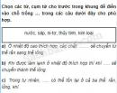 Câu 3 trang 62 Vở bài tập Khoa học 5