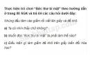 Câu 4 trang 67 Vở bài tập Khoa học 5