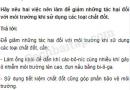 Câu 6 trang 72 Vở bài tập Khoa học 5