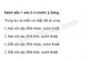 Câu 1 trang 15 Vở bài tập Địa 4: