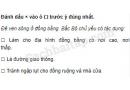 Câu 4 trang 29 Vở bài tập Địa lí 4
